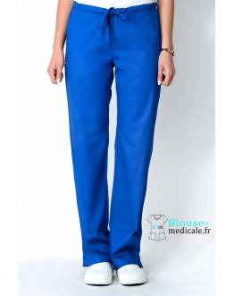 Pantalon Medical Femme Cherokee Luxe Bleu Royal 1066
