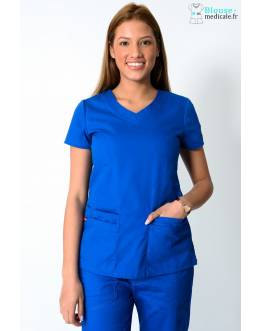 Tunique Medicale Dickies Femme Bleu Royal 85906