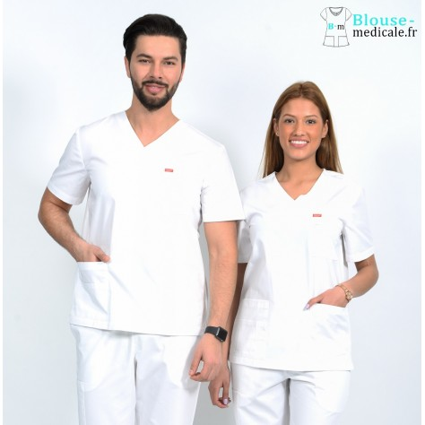 Tunique Médicale Unisexe Orange G3107