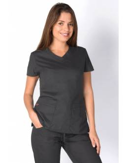 Tunique Medicale Dickies Femme Gris anthracite 85906