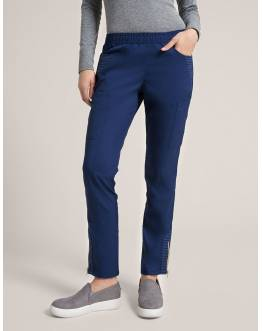 "Pantalon Jaanuu ""Moto Pant"" Bleu Marine Collection Jolie"