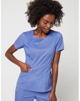 "Tunique Jaanuu ""Peplum Top"" Bleu Ciel Collection Jolie"