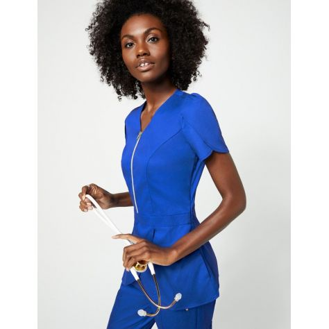 "Tunique Jaanuu ""Tulip Top"" Bleu Royal Collection Jolie"