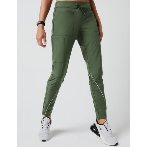 "Pantalon Jaanuu ""Charge Cargo Drawcord Pant"" Army Green Collection Arya"