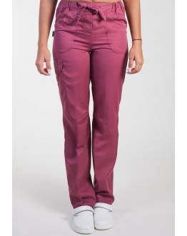 Pantalon Medical Lafont Femme JULIETTE Cassis