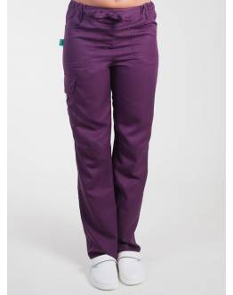 Pantalon Medical Lafont Femme JULIETTE Prune