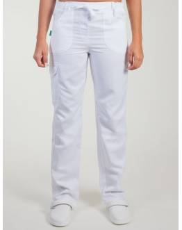 Pantalon Medical Lafont Femme JULIETTE Blanc