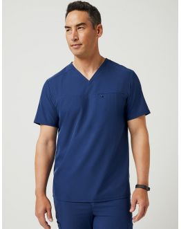 "Tunique Jaanuu Homme ""Refined V-Neck Top"" Marine"