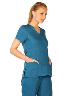 Tunique Medicale Life Threads 1110 Bleu Caraibe