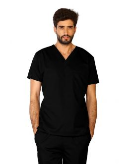Tunique Medicale Homme Life Threads 3110 Noir