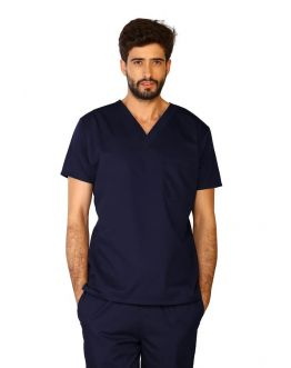 Tunique Medicale Homme Life Threads 3110 Bleu Marine