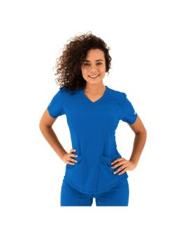 Tunique Medicale Femme Life Threads 1510 Bleu Royal