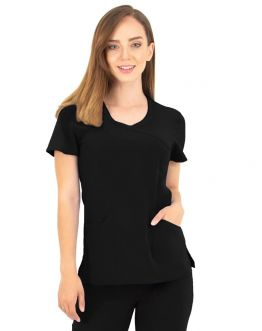 Tunique Medicale Femme Life Threads 1512 Noir