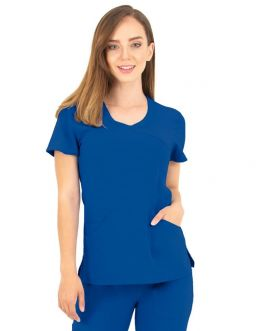 Tunique Medicale Femme Life Threads 1512 Bleu Royal