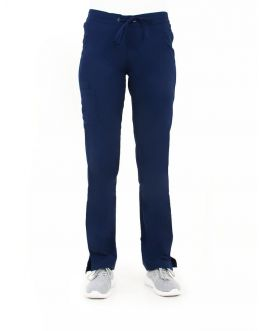 Pantalon Medical Femme Life Threads 1427 Bleu Marine