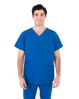 Tunique Medicale Homme Life Threads 2410 Bleu Royal