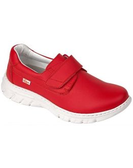 Chaussures Médicales Florencia Rouge